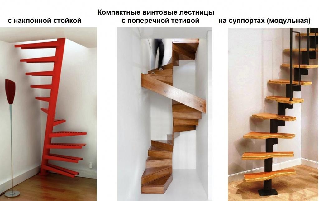 Как сделать простую винтовую лестницу