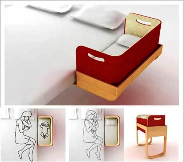 Компактное спальное место для ребенка