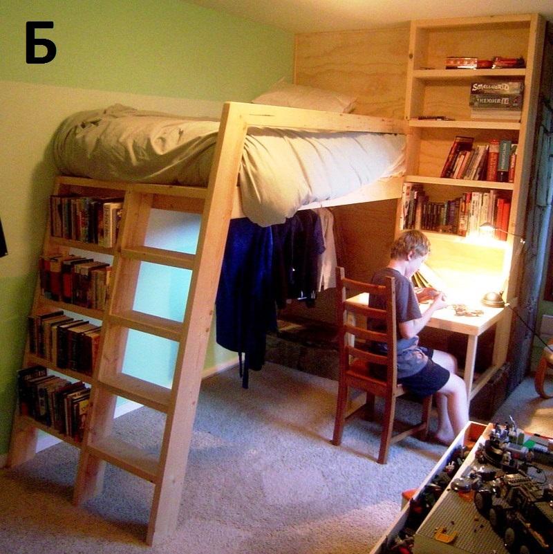 Как сделать второй ярус в комнате с высоким потолком 29